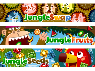 Jungle games for Facebook