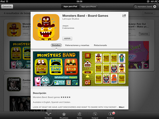 Monstrers Band AppStore