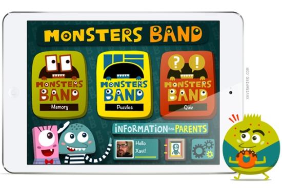 Monsters Band iPad Mini