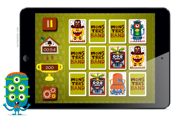 Monsters Band iPad Mini