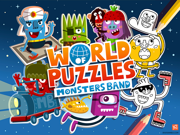 World of Puzzles - Xavi Ramiro