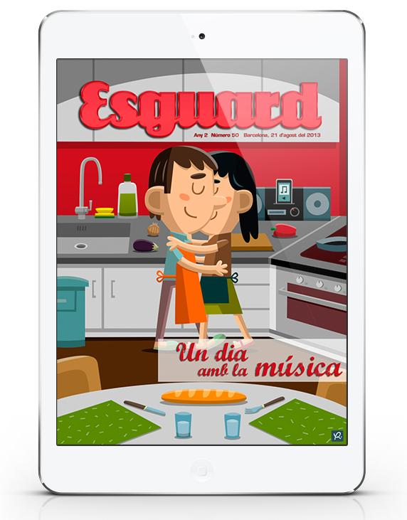 Revista Esguard - Música - Xavi Ramiro