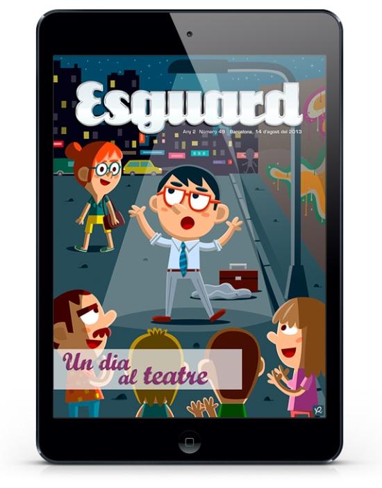 Revista Esguard - Teatre - Xavi Ramiro