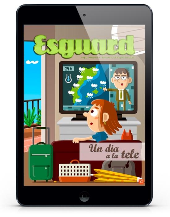 Revista Esguard - TV - Xavi Ramiro