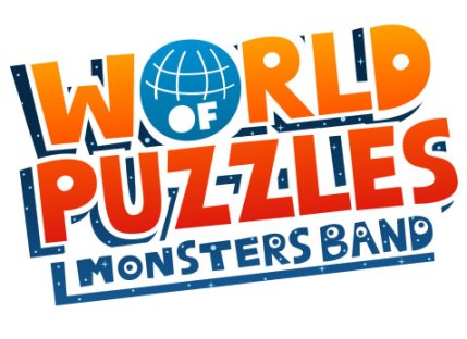 World of Puzzles logo - Xavi Ramiro