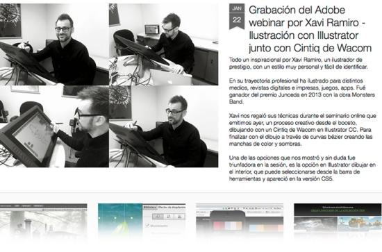 webinar Adobe Xavi Ramiro