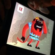 En Guifré dins de l'iPad.