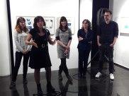 Inauguració de l'exposició col·lectiva Conte va! Va de Contes. A La Sala de Vilanova i la Geltrú.