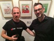 Amb en Ricard Aranda, un gran il·lustrador i amic.
