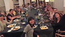 Sopar d'il·lustradors. Vàrem menjar molt, però encara vàrem xerrar més!