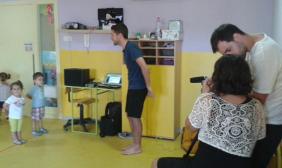 Filmant els nous tutorials en vídeo de #PlanetaClarinet a la Llar la Baldufa de Vilanova del Camí amb Adrià García Mercader.